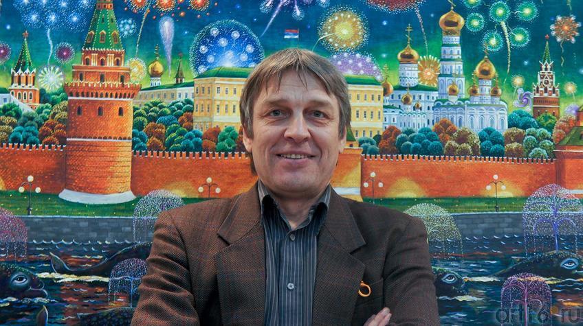 Фото №90404.  Альфрид Шаймарданов на Пермской ярмарке