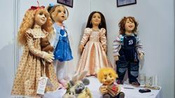 Куклы: Элли, Ксюша, Каролина, Женька. Механошина Светлана (Пермь)