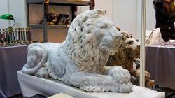 Скульптура льва. Новиков Виталий, скульптор-анималист, Кунгур