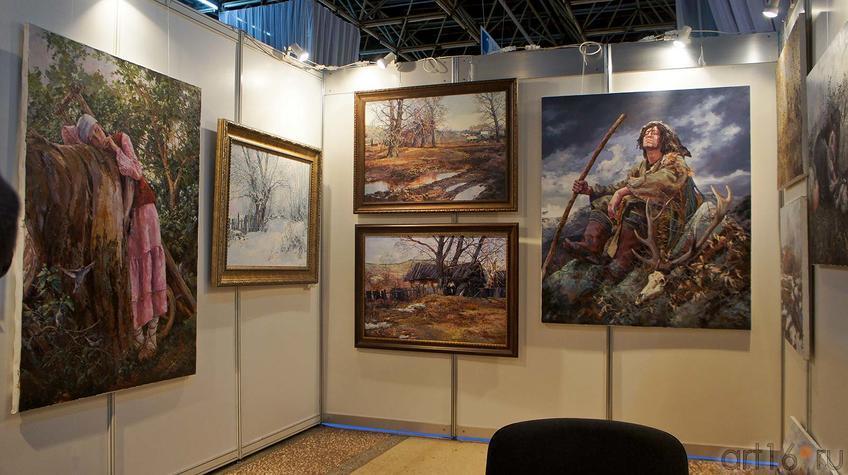 Фото №90684. Фрагмент экспозиции выставочной площадки И.Мусина, Казань