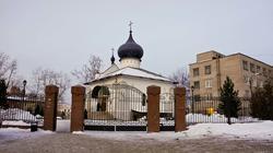 Церковь Казанской иконы Божией матери (Усыпальница Каменских). Пермь, январь 2012