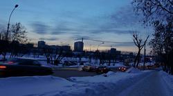 Сумерки в Перми. Январь 2012
