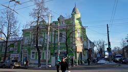 В этом доме жил Блюхер. Пермь 2012