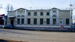 Бывший дом губернатора. В нем проживали все губернаторы Пермской губернии с середины XIX в. по 1917 г.