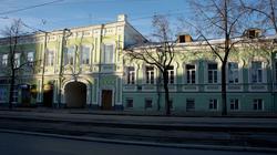 Усадьба купчихи М.Т.Киселевой. Ленина, д.27. Пермь, январь 2012