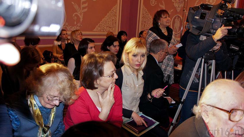 Фото №91171. Пресс-конференция по поводу открытия XXX Международного  оперного фестиваля  им.Ф.И.Шалапина