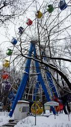 Колесо обозрения. Парк им. Горького. Пермь, январь 2012