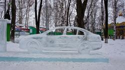 Ледяной городок Парка Горького. Пермь. Январь 2012