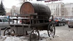 Реклама на улицах города. Пермь. Январь 2012
