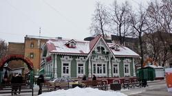 Цветочный двор. на Пермском Арбате. пермь, январь 2012