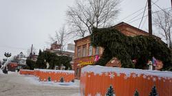 Пермский Арбат. Пермь, январь 2012
