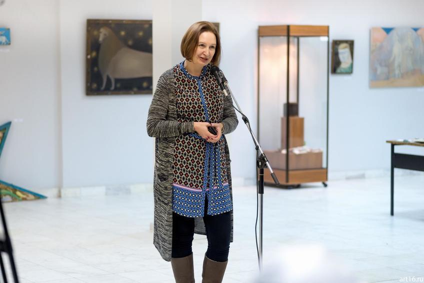 Дина Ахметова::Персональная выставка. Альфия Ильясова–Саргин. 8 декабря 2016