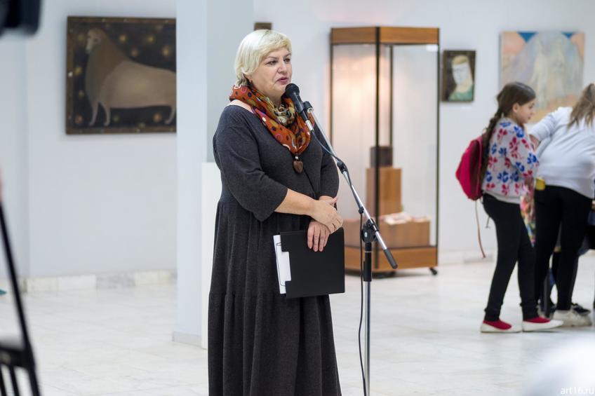 Садкова Татьяна Петровна::Персональная выставка. Альфия Ильясова–Саргин. 8 декабря 2016