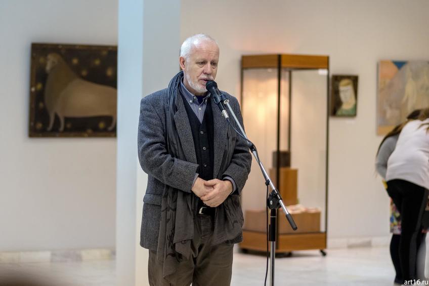 Хасанов Ильгизар Ахметсафович::Персональная выставка. Альфия Ильясова–Саргин. 8 декабря 2016