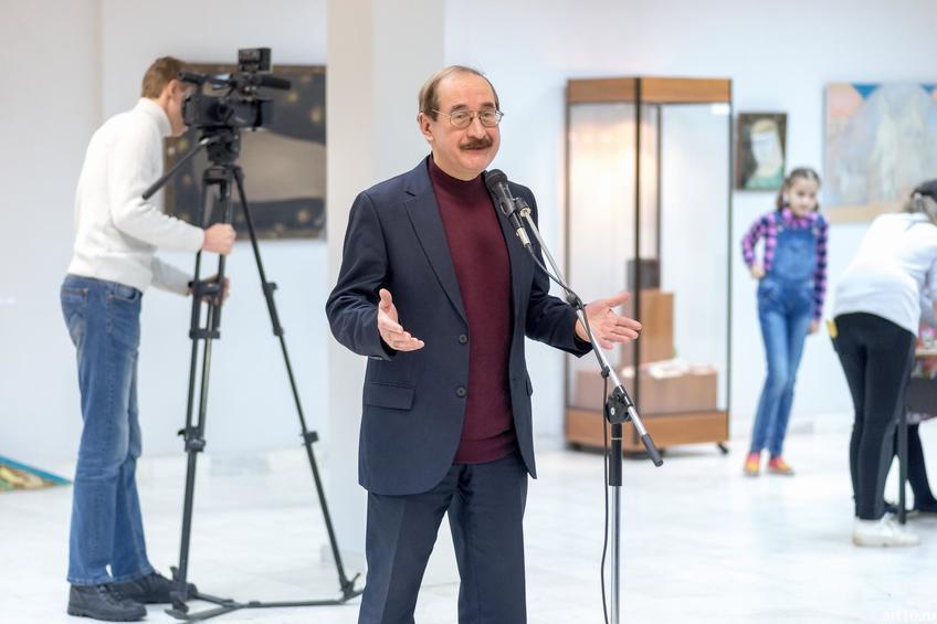 Валиуллин Фарит Рашидович::Персональная выставка. Альфия Ильясова–Саргин. 8 декабря 2016