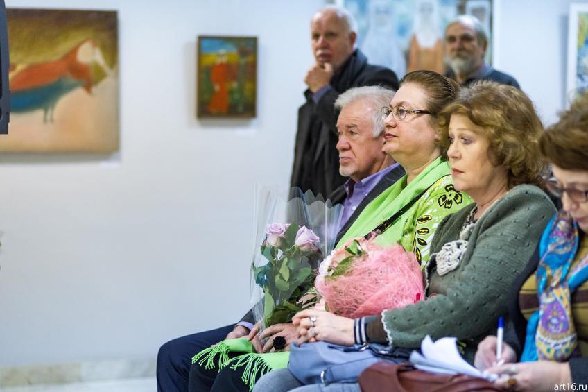 Гимаев З.Ф., Куртева А.И.::Персональная выставка. Альфия Ильясова–Саргин. 8 декабря 2016