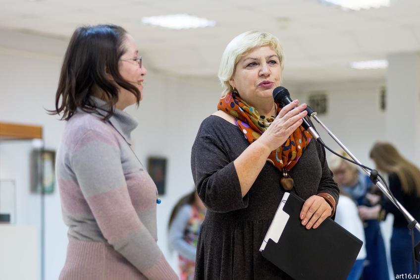 Садкова Т.П.::Персональная выставка. Альфия Ильясова–Саргин. 8 декабря 2016