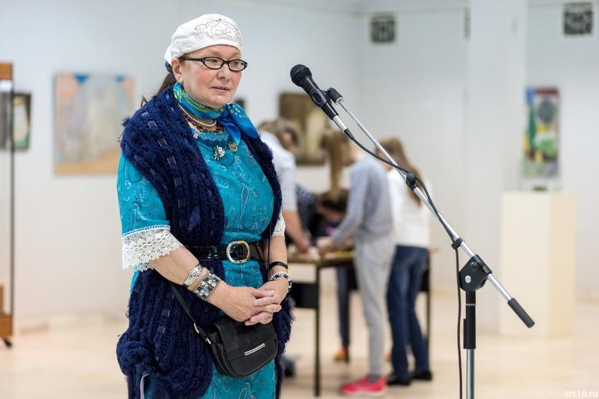 Земфира Бикташева::Персональная выставка. Альфия Ильясова–Саргин. 8 декабря 2016