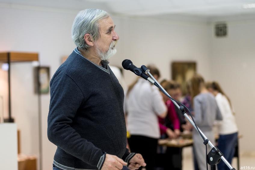 Рашид Тухватуллин::Персональная выставка. Альфия Ильясова–Саргин. 8 декабря 2016