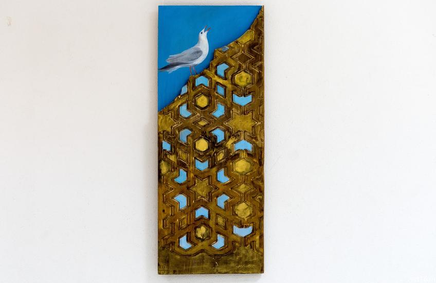 Чайка. Ильясова–Саргин А.Р.::Персональная выставка. Альфия Ильясова–Саргин. 8 декабря 2016