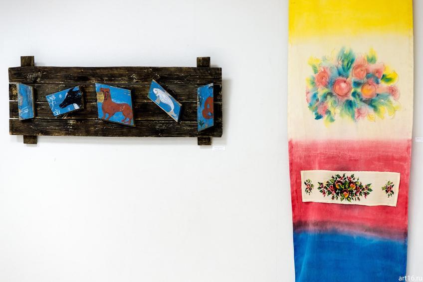 Дорогой Назифе на память. 2008. Ильясова–Саргин А.Р.::Персональная выставка. Альфия Ильясова–Саргин. 8 декабря 2016