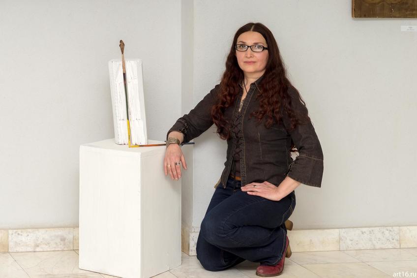 Саргин-Ильясова Альфия Ринадовна::Персональная выставка. Альфия Ильясова–Саргин. 8 декабря 2016