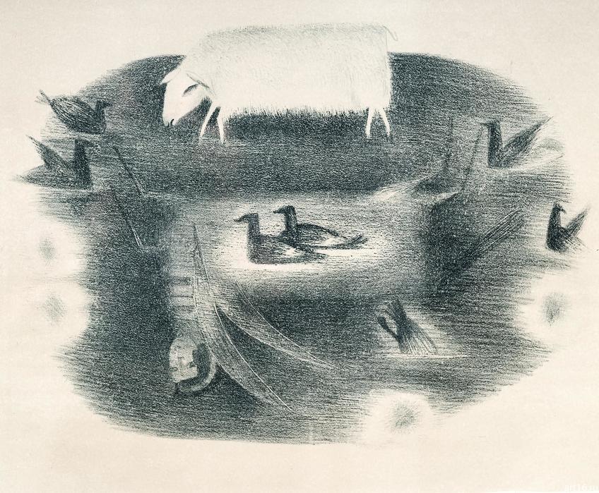 Видение. 1992. Ильясова–Саргин А.Р.::Персональная выставка. Альфия Ильясова–Саргин. 8 декабря 2016