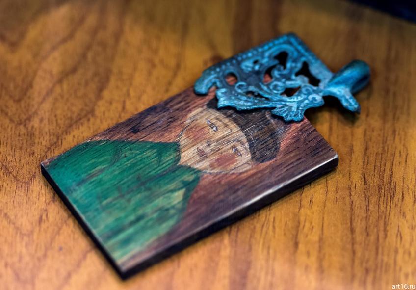 Медальон царицы (фрагмент). 2016. Саргин-Ильясова А.Р.::Персональная выставка. Альфия Ильясова–Саргин. 8 декабря 2016