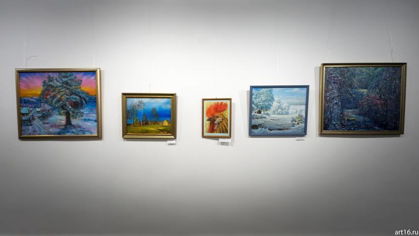 Фрагмент экспозиции выставки «На деревне жил петух...»::На деревне жил петух