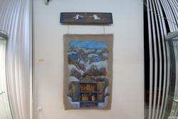 Лариса Рябинина. 1971 Вертеп. 2013 Холст. масло