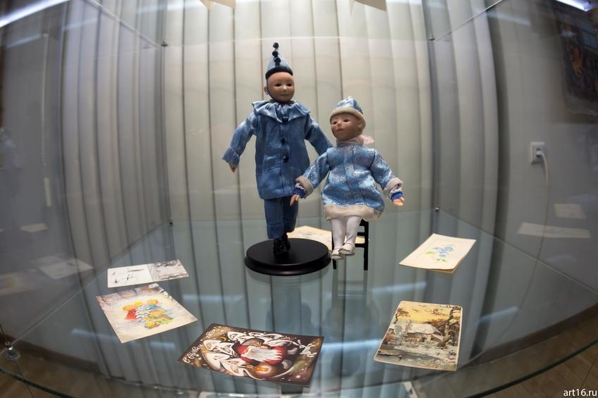 Снегурка и Пьеро. 2008::Новогодние истории нереальных героев. Кукольные сезоны