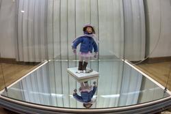 Милана Королёва 1966. Элечка. 2008 Пластик, войлок, металл