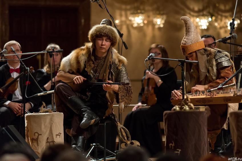 Фото №915179. «Туран» (Алматы, Казахстан) и Казанский камерный оркестр La Primavera
