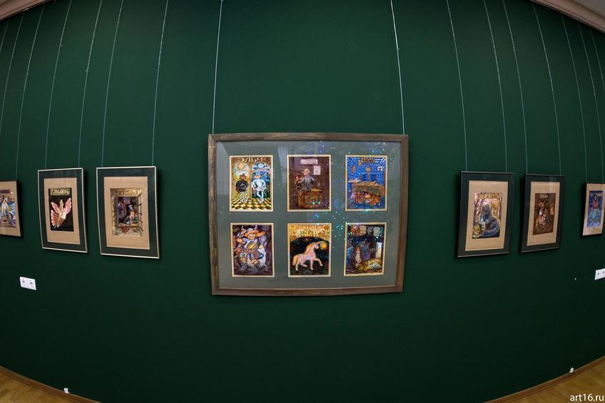 Фото №915229. Лариса Рябинина. 1971. Иллюстрации к нестрашной энциклопедии чудищ-юдищ и бук