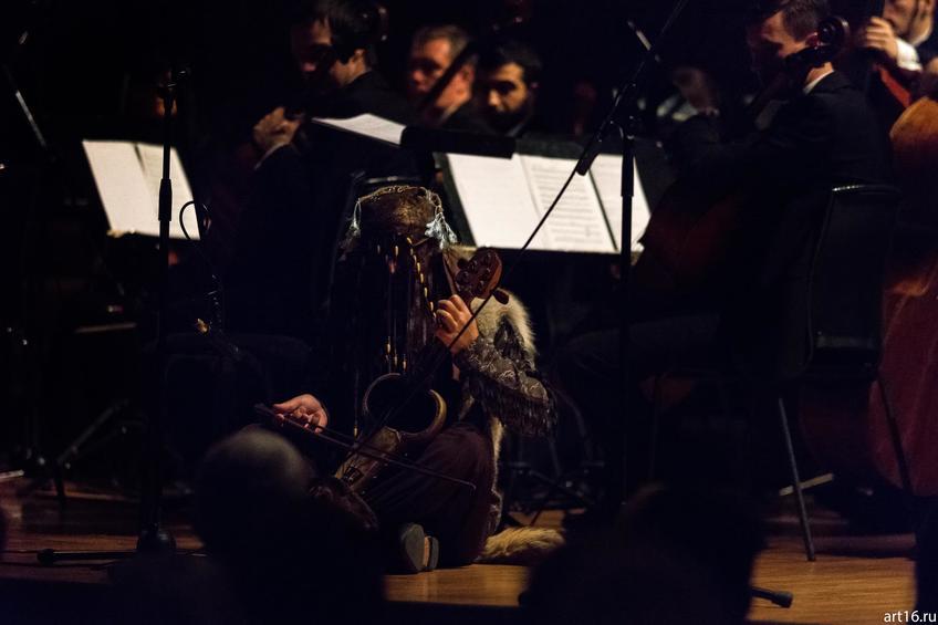 Выступление ансамбля «Туран» и оркестра La Primavera::Закрытие V «Абязов-фестиваля»