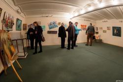 На выставке А.Бусыгина «Царь художников и все, все, все»
