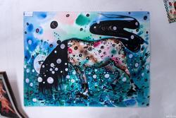 Лошадь с черной гривой. А.Бусыгин