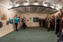 Открытие выставки Александра Бусыгина
