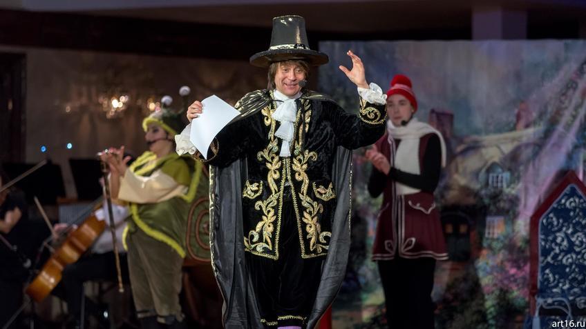 Оле-Лукойе (Рустем Галич)::Новогоднее представление «Рождественские сны Оле-Лукойе»