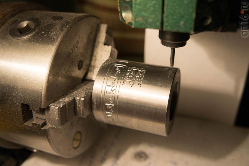 Изготовление ювелирного цилиндрического штампа на фрезерном станке 4d::Коллекция