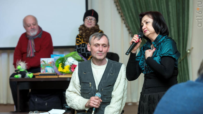 Фото №919070. Дуэт «Бэхет» (Сергей Крайнов, Сания Ибрагимова)