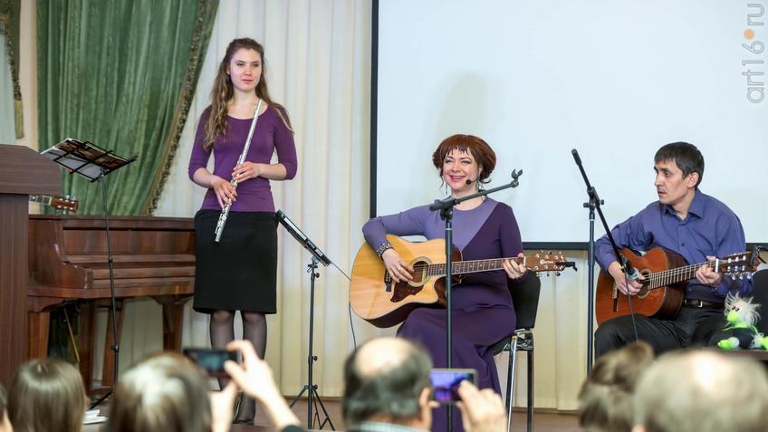 Невена Летаева::20 лет ЛИТО «Белая ворона» и д.р. Бориса Вайнера