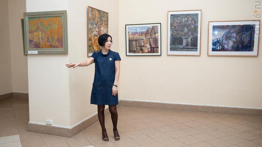 Фасхутдинова Луиза::Выставка «Русский Север в Казани»
