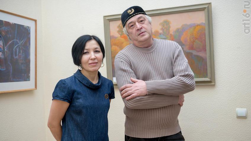 Гильмутдинов Ленар, Фасхутдинова Луиза::Выставка «Русский Север в Казани»