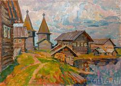 Рашид САГАДЕЕВ Архангельск, 1960. «Ощевенск». 1998, х.м., 50x70