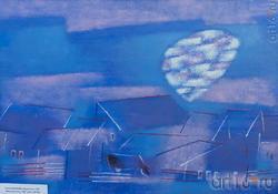 Елена Копылова, Архангельск,1967. Июньская ночь. 2007. кар., м., 80х100