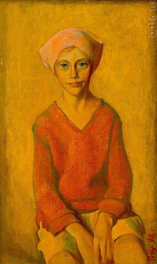 В. Щелин. «Поморочка» 1998::Выставка «Русский Север в Казани»