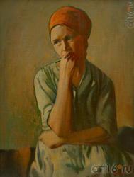 Владимир ЩЕЛИН. Архангельск 1933. «Портрет», 1995, х.м.