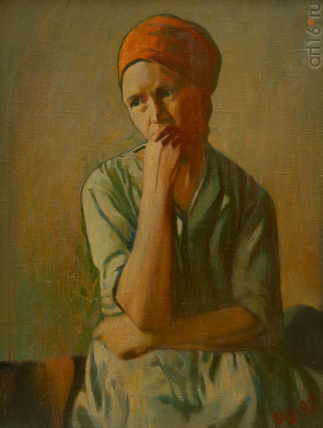 Фото №919266. Владимир ЩЕЛИН. Архангельск 1933. «Портрет», 1995, х.м.