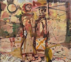 Всеволод Видякин, Архангельск, 1948. «Муза», 2006, бум., акв., 61х71